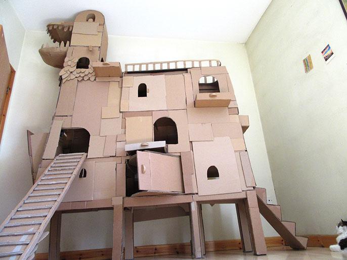 cardboard-ark-structure-cat-9